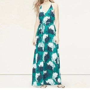 Ann Taylor Loft Floral Bloom Maxi Dress